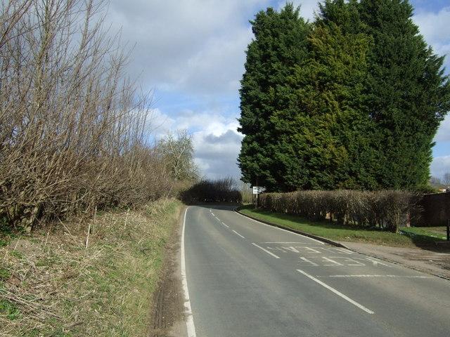 Road towards Chiltern Green