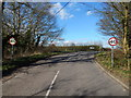TL9740 : 40 MPH speed limit coming out of Calais Street towards Boxford by Hamish Griffin