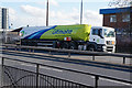 TA1329 : A BP Ultimate Tanker on Hedon Road, Hull by Ian S
