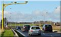 J4679 : The Belfast Road near Bangor (February 2014) by Albert Bridge