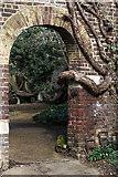 TQ3499 : Archway, Myddelton House, Enfield, Middlesex by Christine Matthews