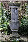 TQ3499 : Stone Ornament, Myddelton House, Enfield, Middlesex by Christine Matthews
