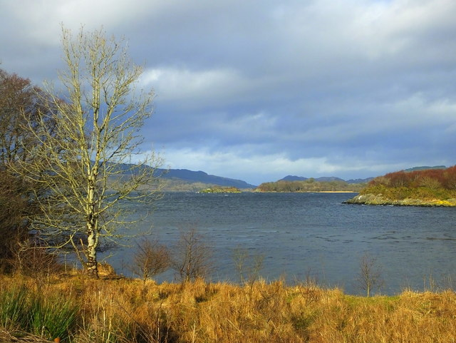 West Loch Tarbert from the causeway at Kennacraig