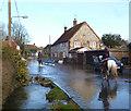 SU2675 : Groundwater Flooding in Aldbourne 4 by Des Blenkinsopp