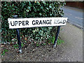 TM4289 : Upper Grange Road sign by Adrian Cable