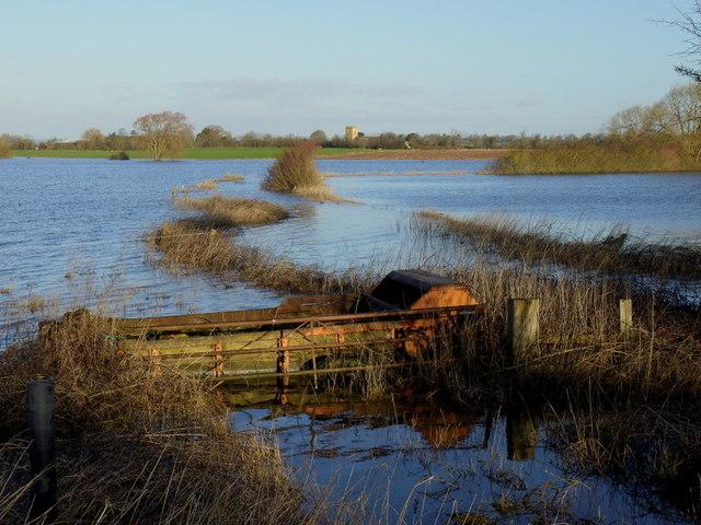 Flooded Leigh Brook, 2014