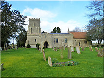 SP6517 : Ludgershall church by Robin Webster