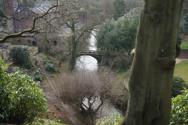 River Bollin at Quarry Bank