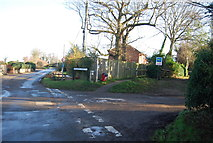 TG2834 : Brewery Rd, Wrights Loke junction by N Chadwick