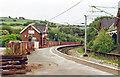SK0294 : Dinting station: Glossop line platform, 1996 by Ben Brooksbank