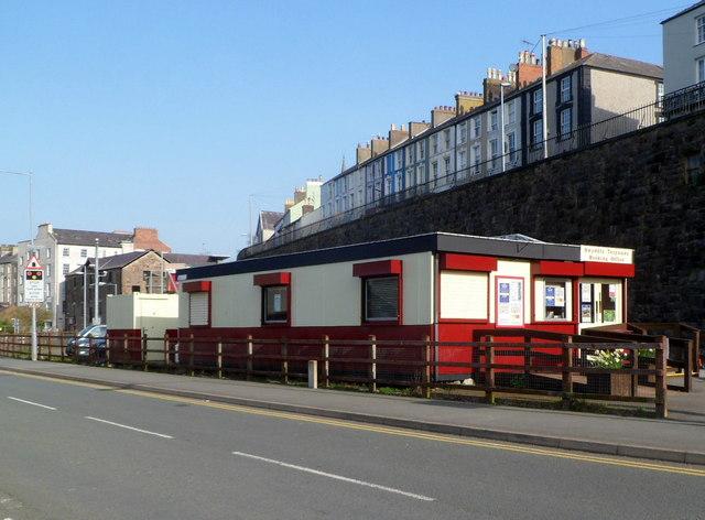 Welsh Highland Railway booking office in Caernarfon