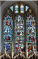 TL6600 : East window, St Margaret's church, Margaretting by Julian P Guffogg