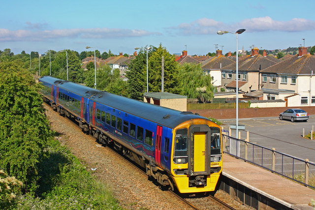 Station at Weston Milton