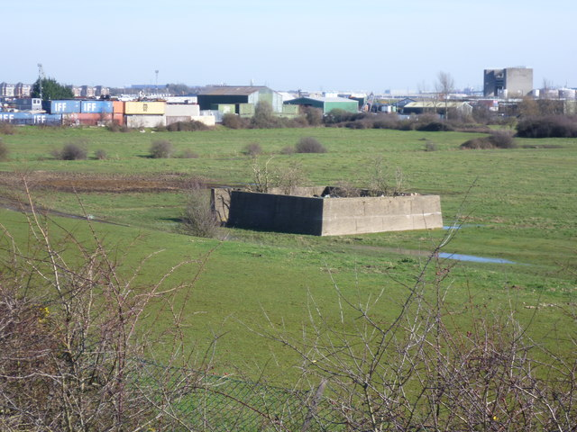 Crayford Marshes and the Darent Industrial Estate
