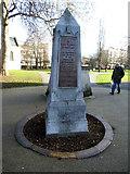 TQ3379 : Obelisk in St Mary's churchyard, Bermondsey by Stephen Craven