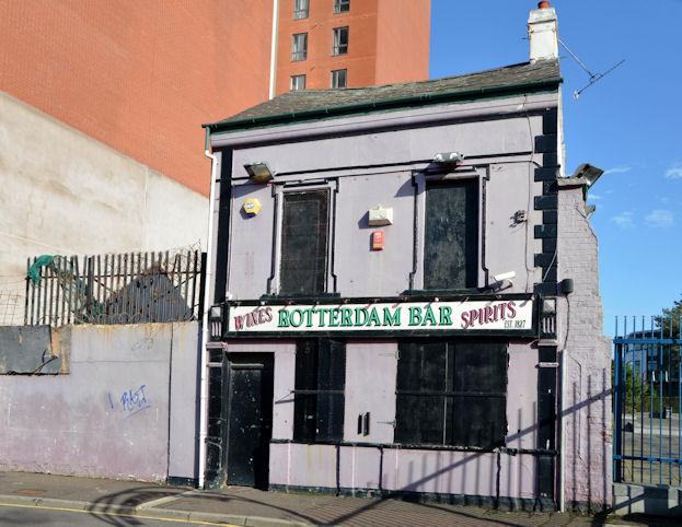 "The former ""Rotterdam Bar"", Belfast - February 2014(1)"