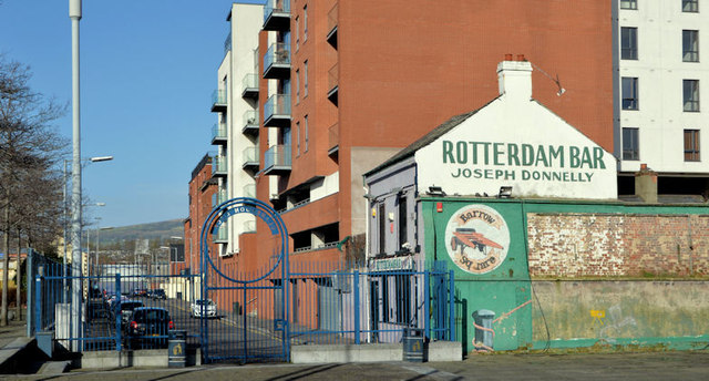 "The former ""Rotterdam Bar"", Belfast - February 2014(2)"