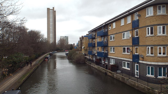 Grand Union Canal at Westbourne Park