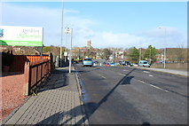 NS3421 : Station Road, Ayr by Billy McCrorie
