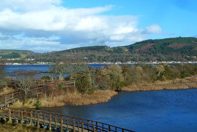 Merkinch Nature Reserve View