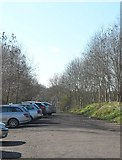 SP1953 : Car Park on Stratford Greenway by Anthony Parkes