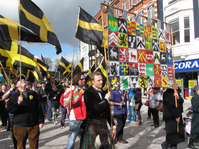 St. David's Day parade, Cardiff