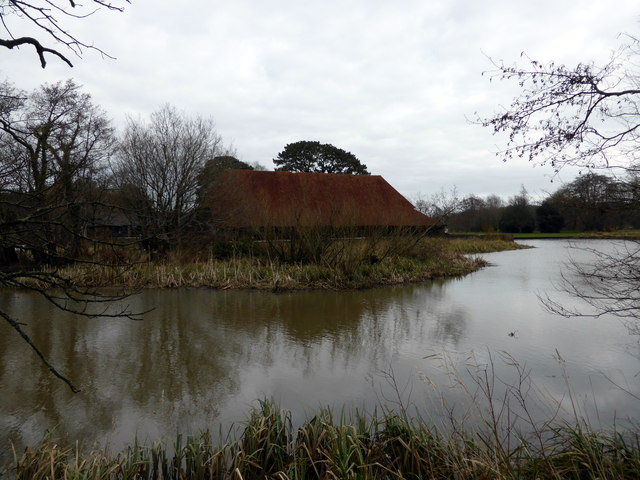 The Great Barn at Michelham Priory
