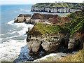 TA2372 : Thornwick Nab cliff erosion by Scott Robinson