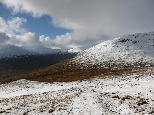 View into upper Glen Lochay