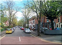 J3472 : North Parade, off Ormeau Road by Eric Jones