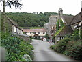 SS6949 : To Lee Abbey main entrance 1-North Devon by Martin Richard Phelan