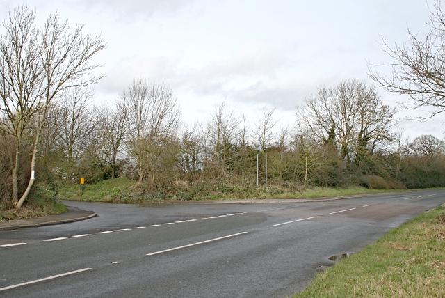 Randalls Road, recycling depot turning