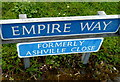 SO8116 : Change of street name in Gloucester by Jaggery