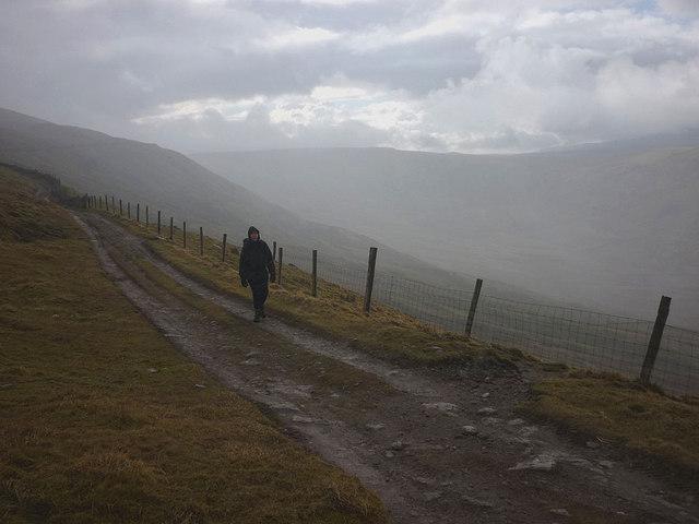 The Pennine Way above Snaizeholme