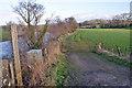 NY4758 : Field entrance and footpath by Richard Dorrell