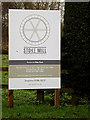 TG2301 : Stoke Mill sign by Geographer