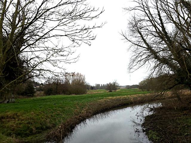 River Tas off Mill Road