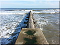 NZ4153 : Outflow pipe at Ryhope Beach by Clive Nicholson