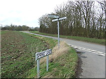 TM2567 : Spring Lane Name Sign by Keith Evans