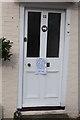 SU6415 : Door of No. 12 East Street, Hambledon by Peter Facey