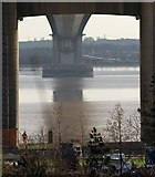 TA0224 : Over the Humber, under the bridge by Paul Harrop