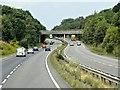 TL7066 : Westbound A14 by David Dixon