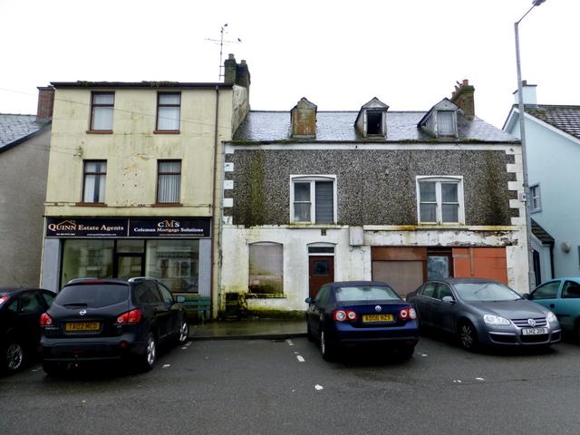 Derelict buildings, Church Street, Ballygawley