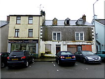 H6357 : Derelict buildings, Church Street, Ballygawley by Kenneth  Allen