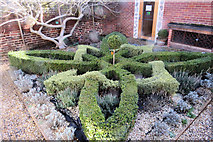 TL3212 : Jacobean Knot Garden, Hertford Museum, Hertford by Chris Reynolds