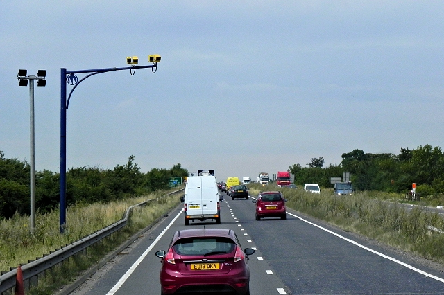 Traffic Cameras on the Cambridge Bypass