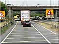 TL4161 : Westbound A14 passing below M11 at Girton Interchange by David Dixon