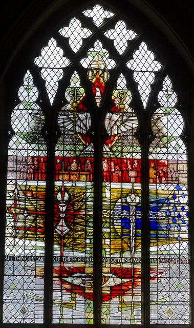 Pinchbeck Window, St Wulfram's church, Grantham