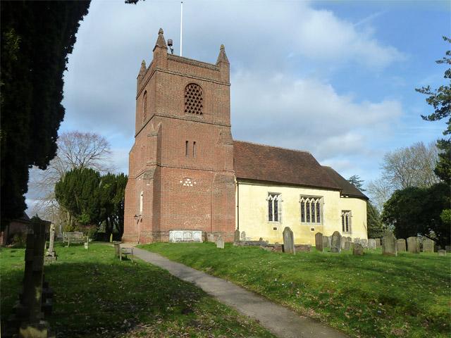 Finchampstead church