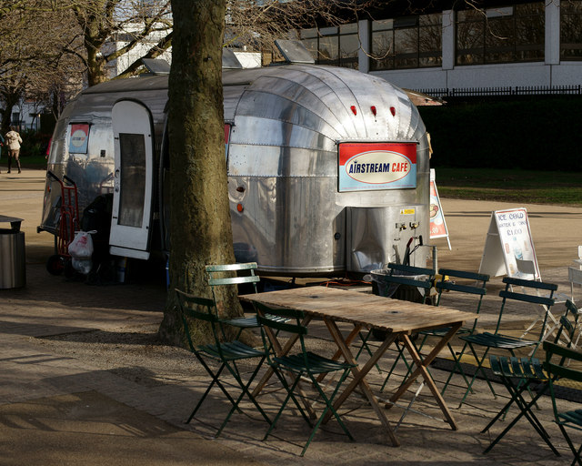 Airstream Café, London